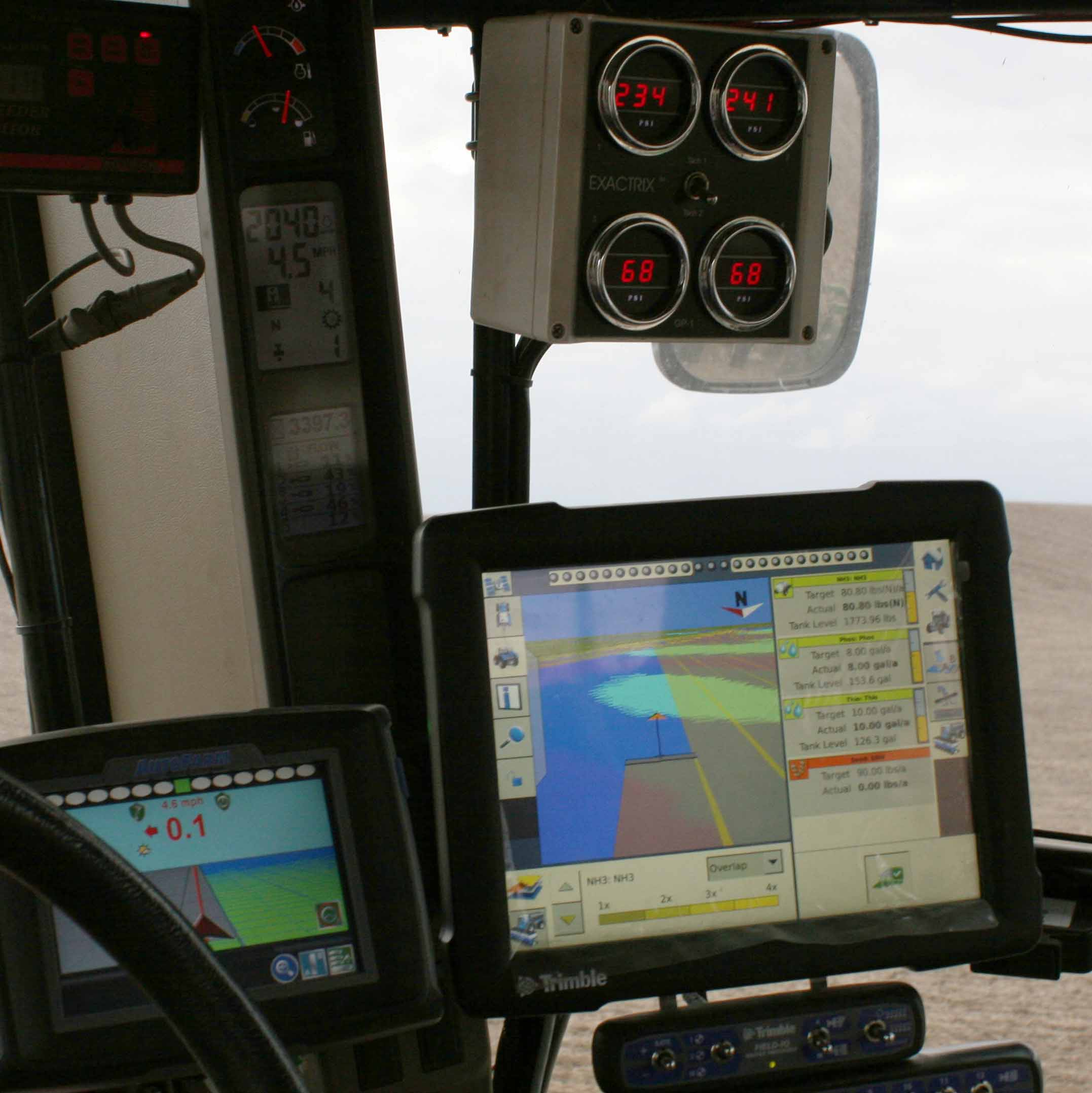 On tractor yield and guidance